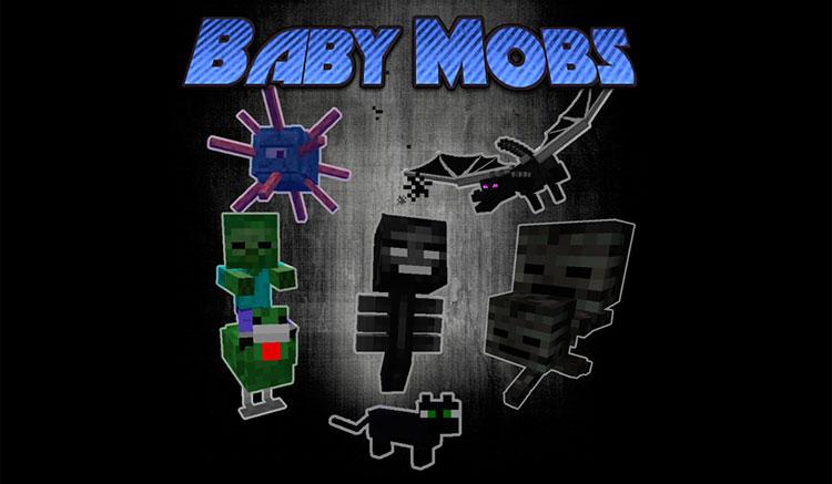 baby-mobs-mod-para-minecraft-1-10-2-gamersrd
