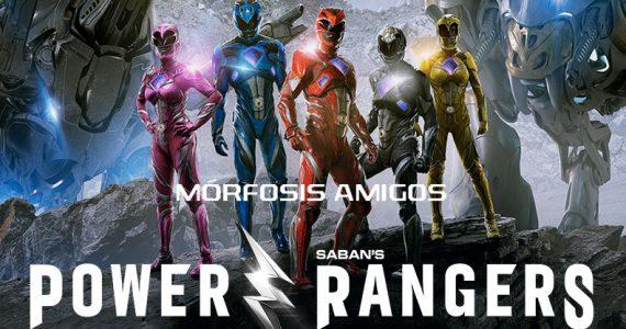 Power Rangers Exhibiendose AHORA