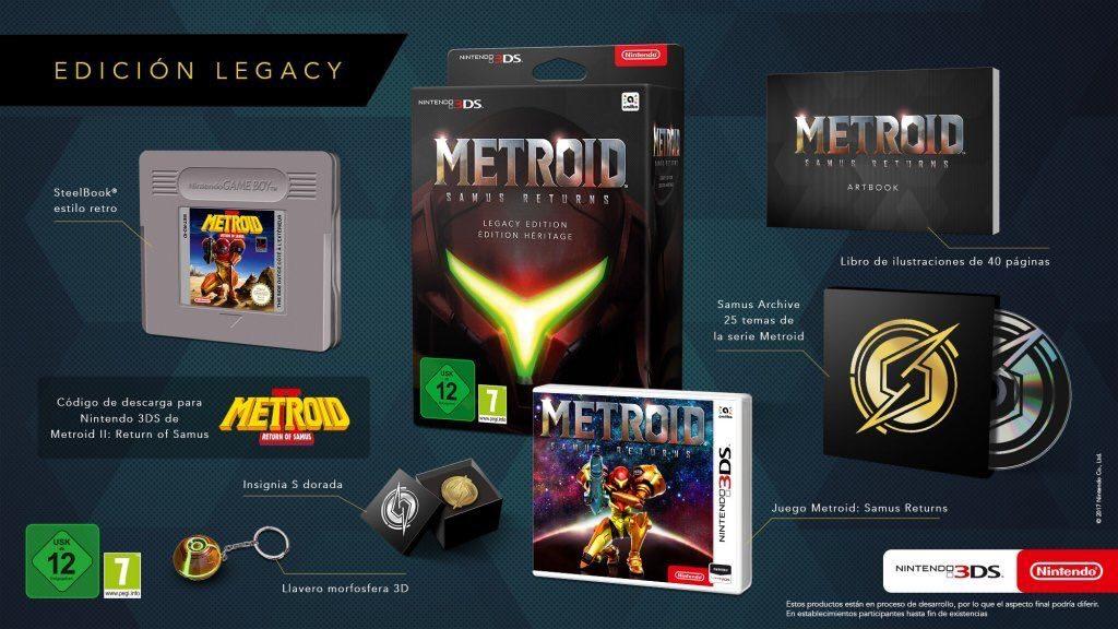 Nintendo anuncia la edición para coleccionistas de Metroid: Samus Return