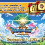 Estos son los bonos por Preordenar Dragon Quest XI
