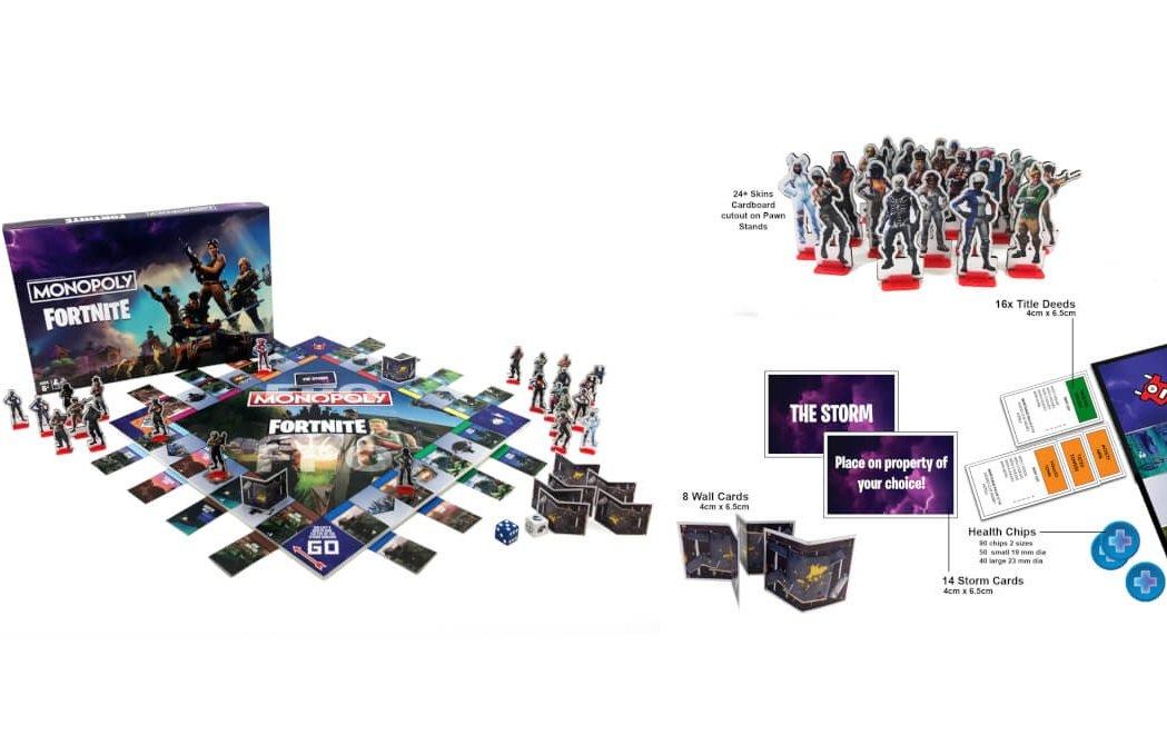 Ya Se Puede Pre Ordenar El Monopoly Basado En Fortnite