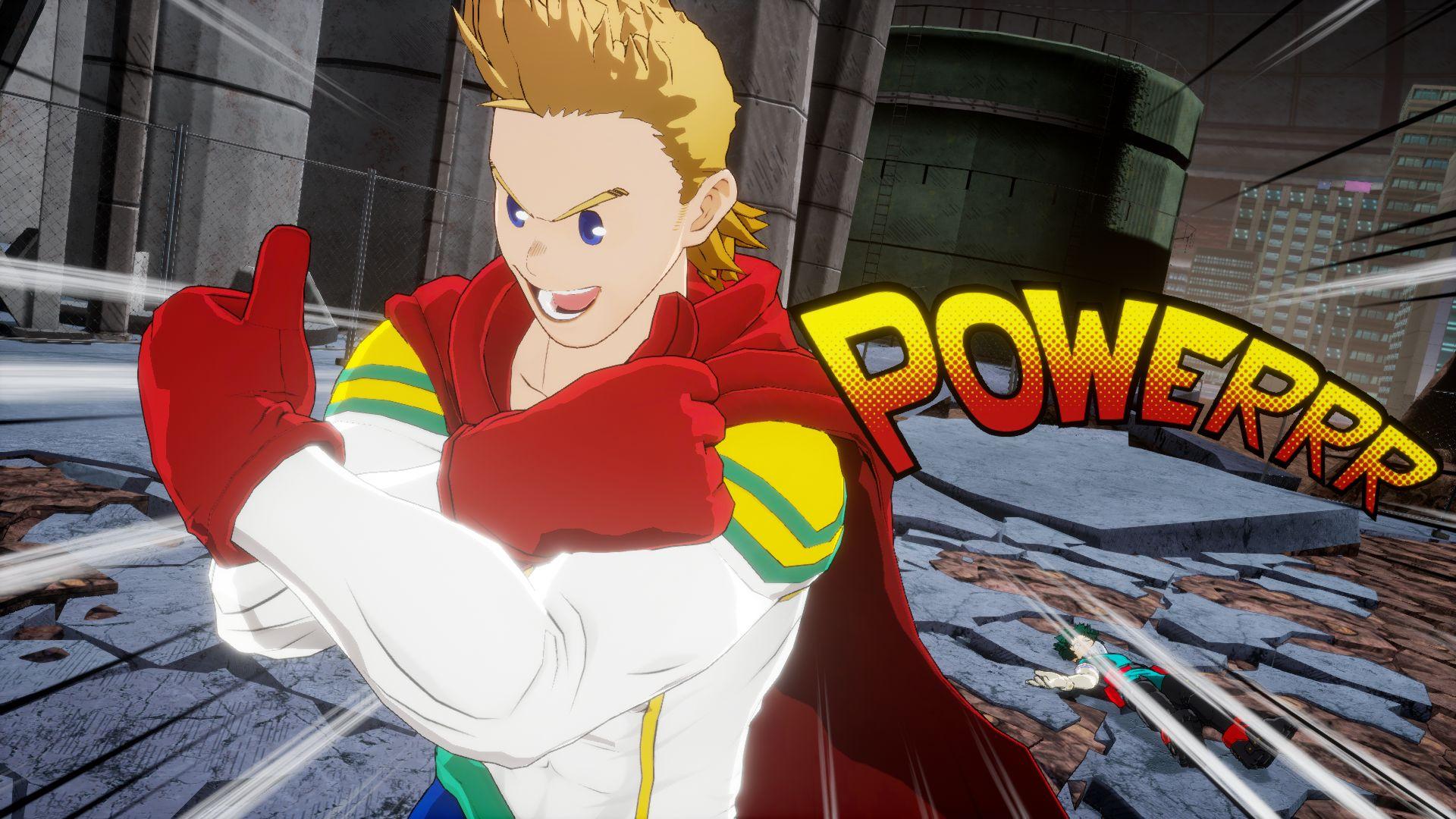 Mirio sera un personaje jugable en My Hero One's justice 2 , GamersRD