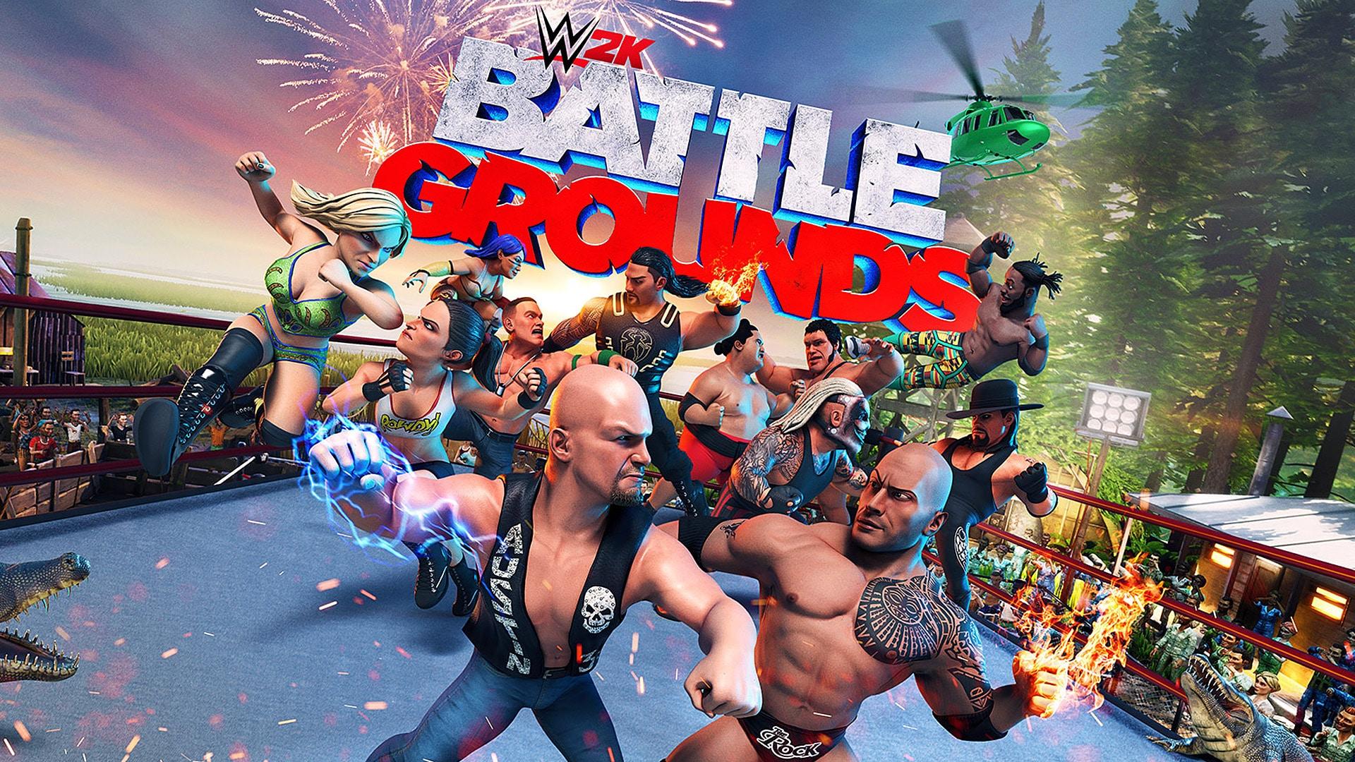 WWE 2K Battlegrounds , Review 0 GamersRD