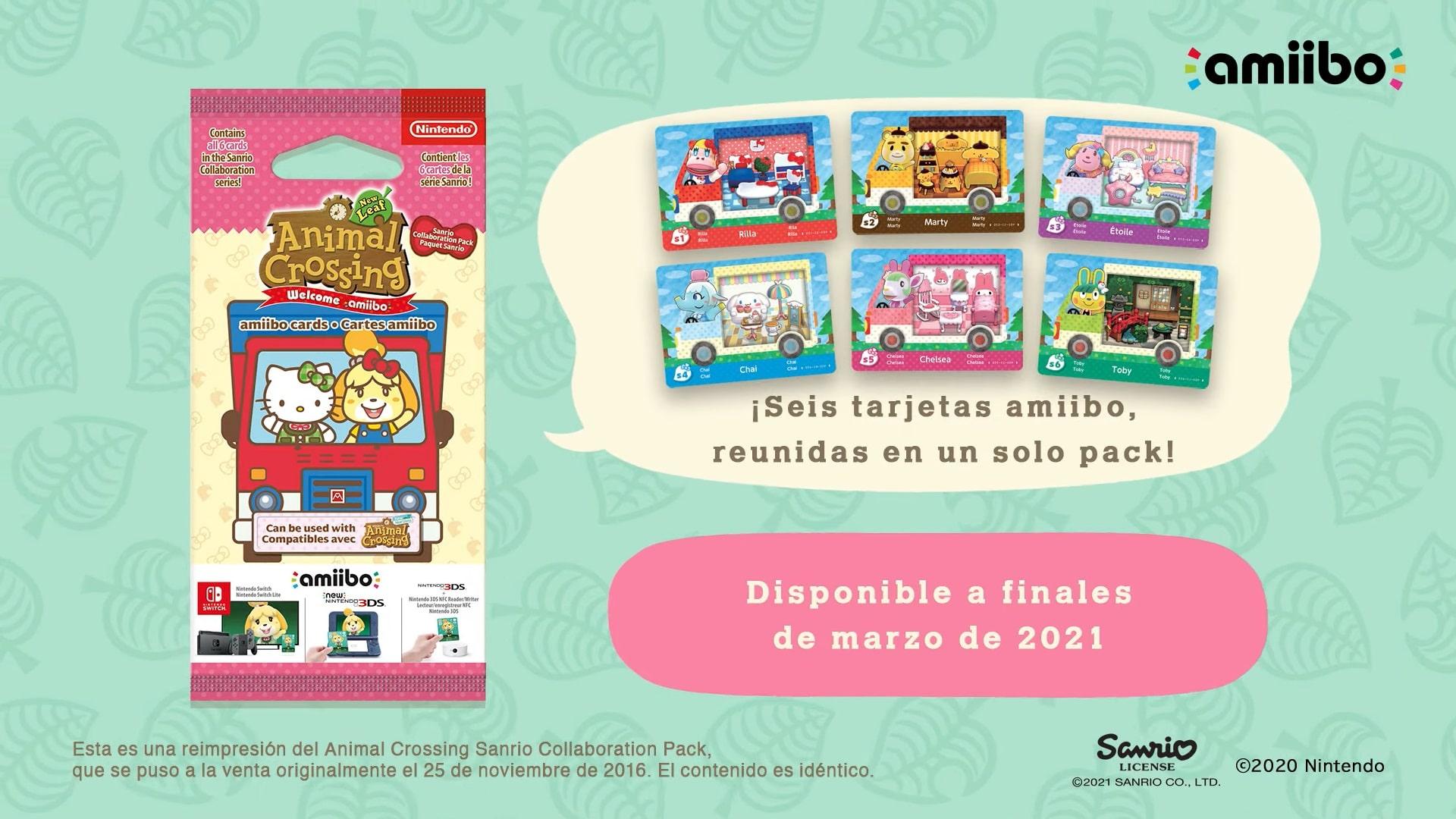 Sanrio Amiibo cards - GamersRD