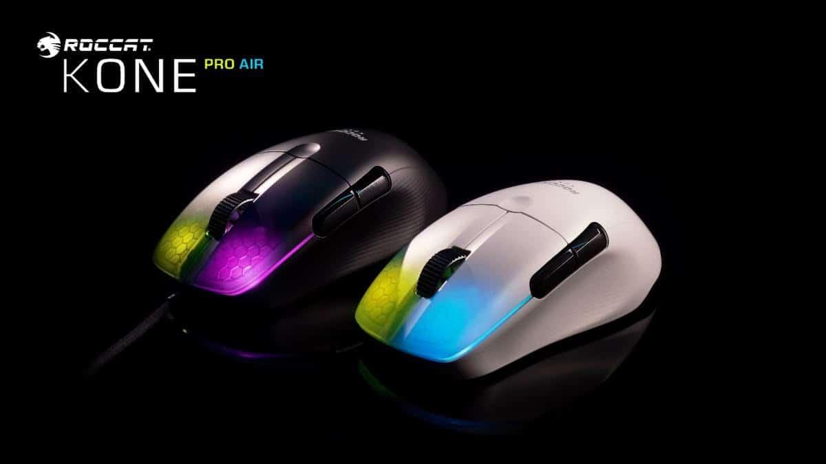 ROCCAT presenta sus nuevos mouse gaming Kone Pro y Kone Pro Air, GamersRD