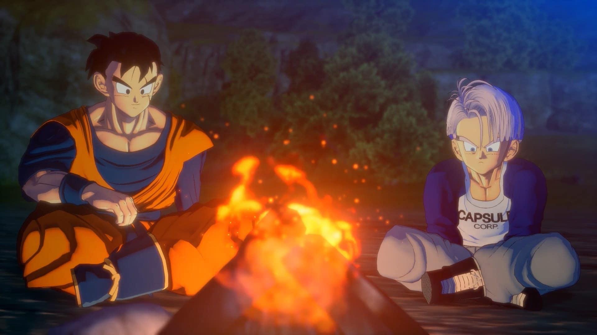 Dragon Ball Z Kakarot - Trunks y Gohan - GamersRD
