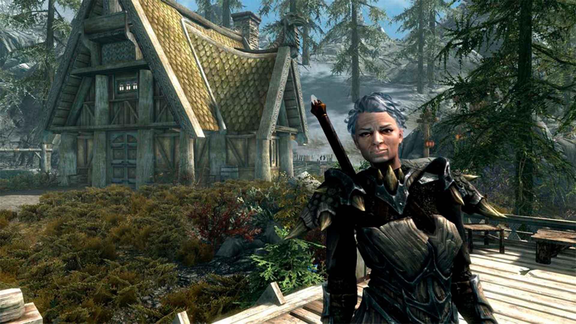Skyrim Grandma, Mod, GamersRD