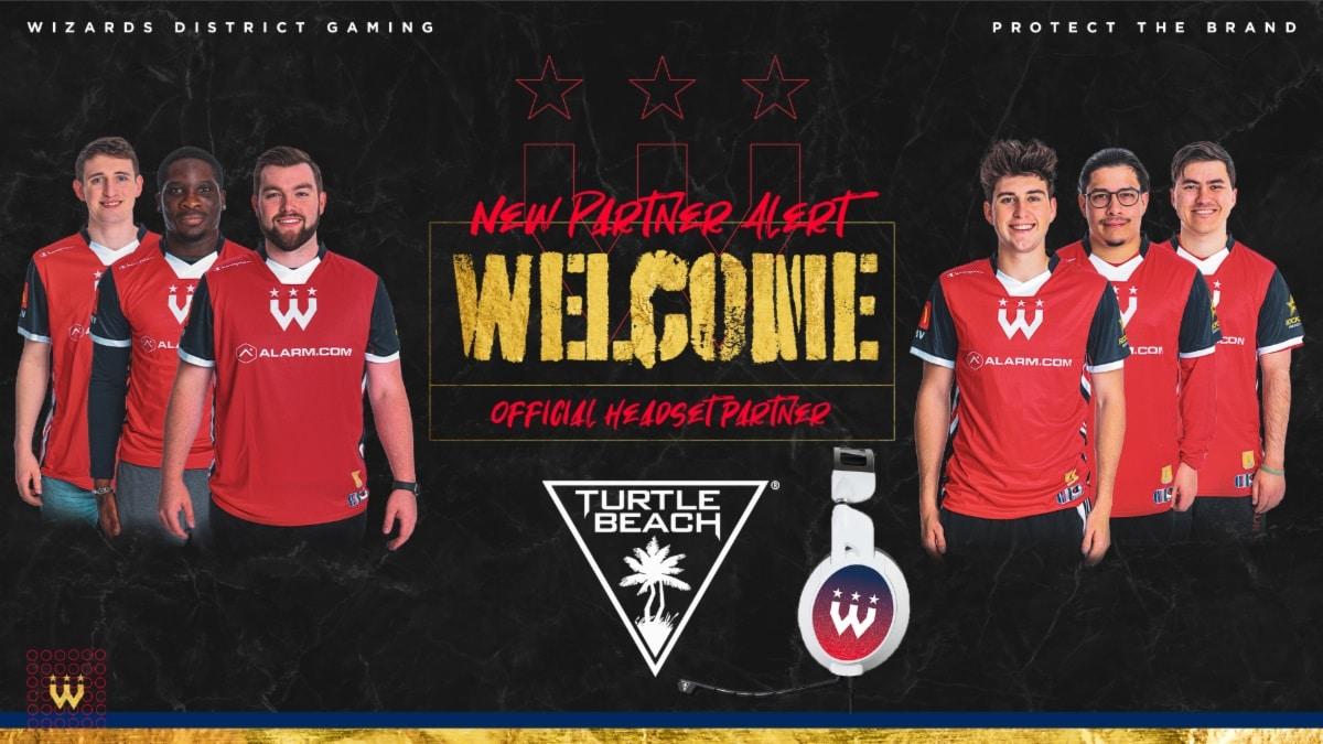 Turtle Beach anuncia la nueva asociación con los actuales campeones de la NBA 2K League, Wizards District Gaming, GamersRD