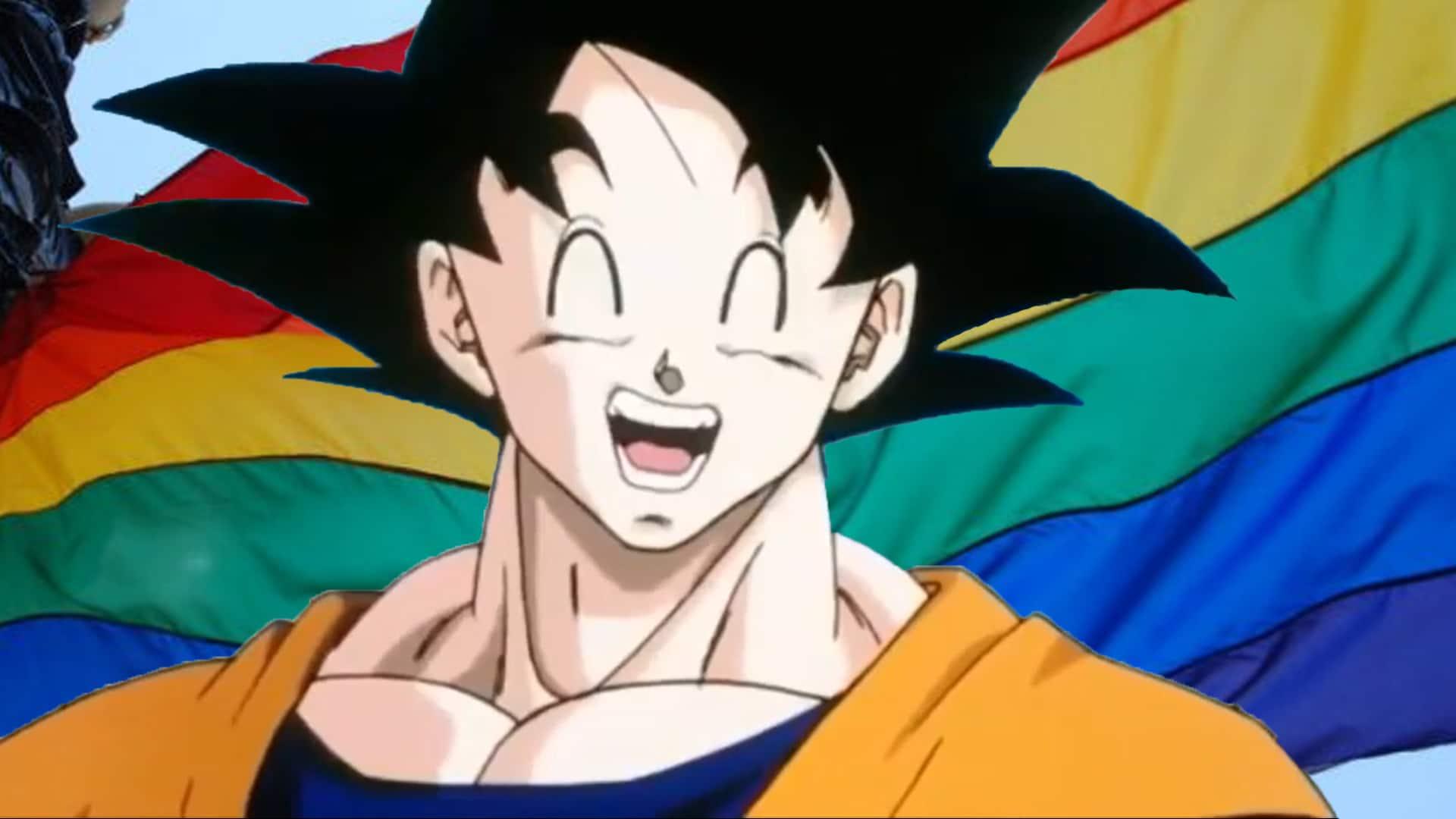 Gokú de Dragon Ball podría ser un ícono de la comunidad LGBT al ser considerado asexual