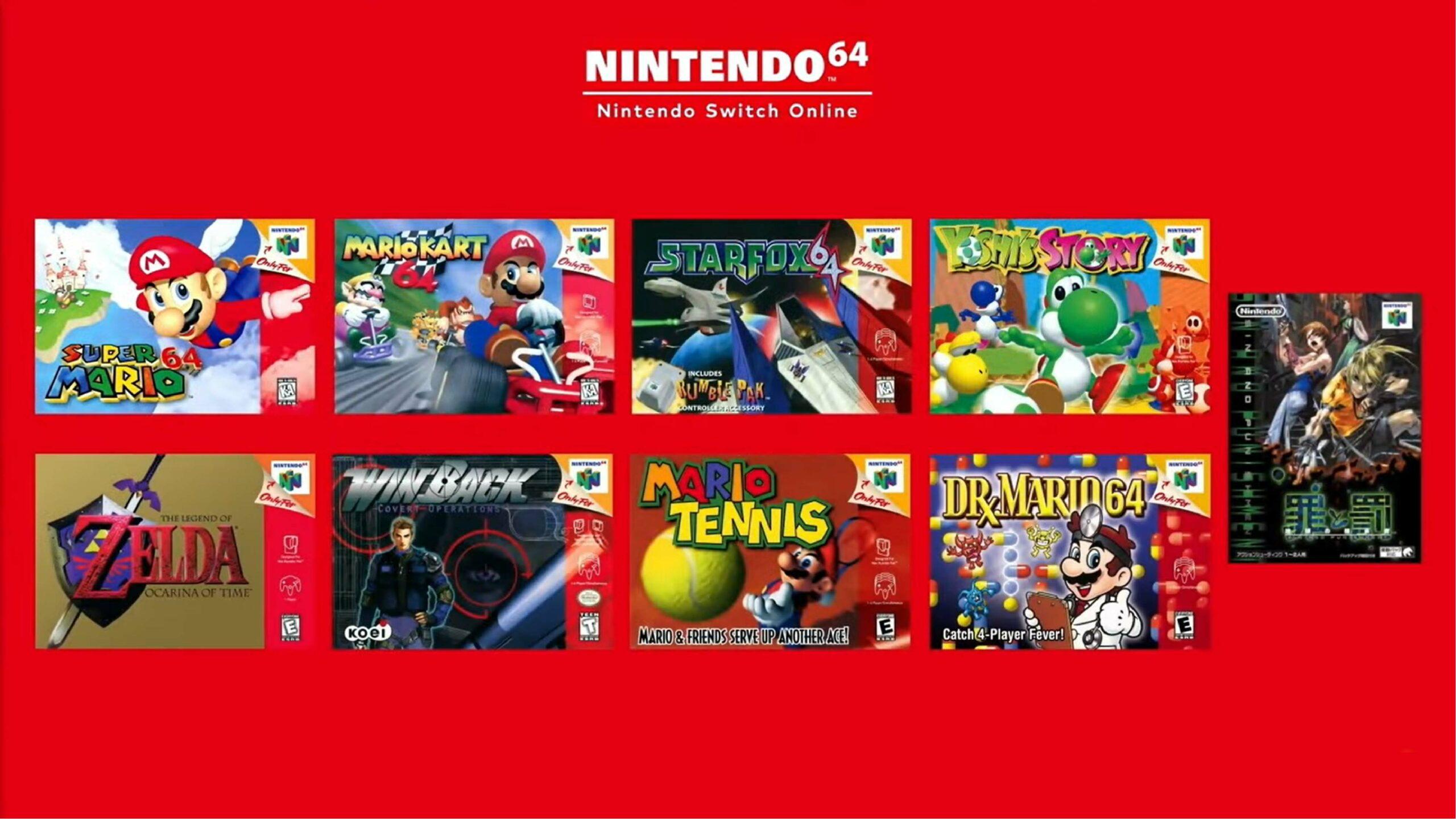 Nintendo Switch Online incluirá juegos de Nintendo 64 y Sega Genesis con nueva membresía