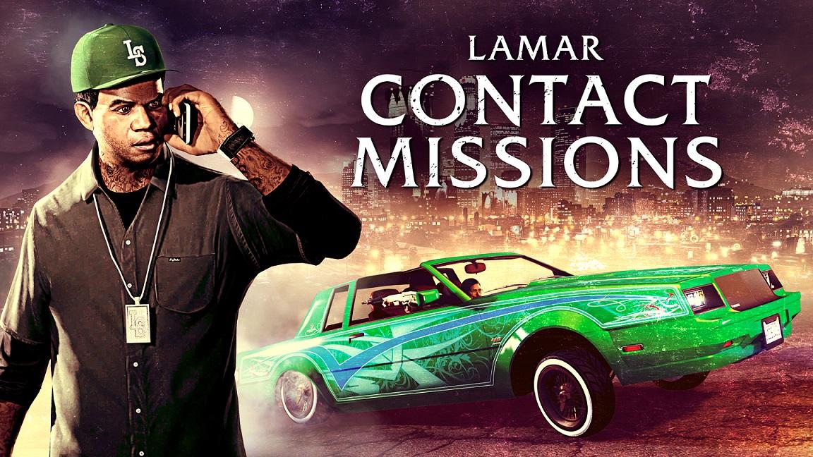 GTA Online Recompensas triples en misiones de contacto de Lamar y en todas las carreras terrestres, bonificaciones dobles de GTA$ y RP y más, GamersrD
