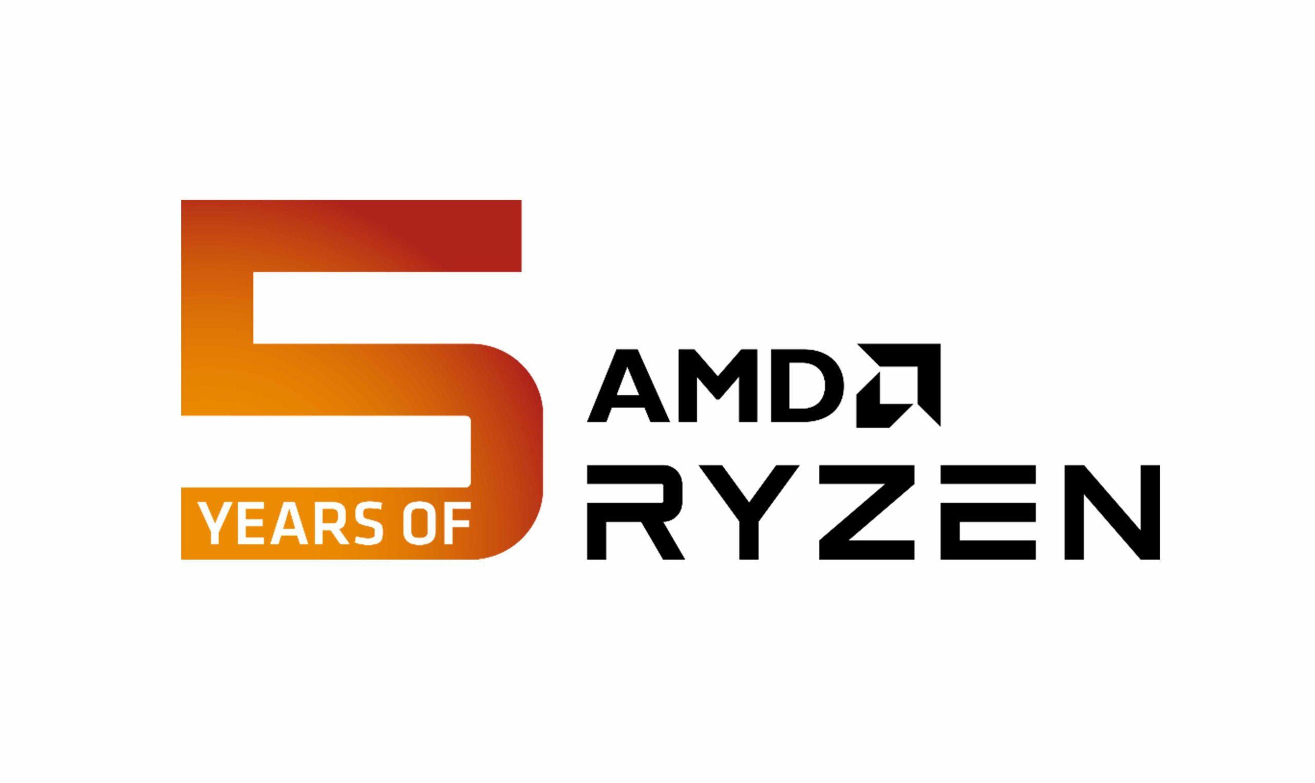 AMD está celebrando el 5to aniversario de Ryzen , GamersRD