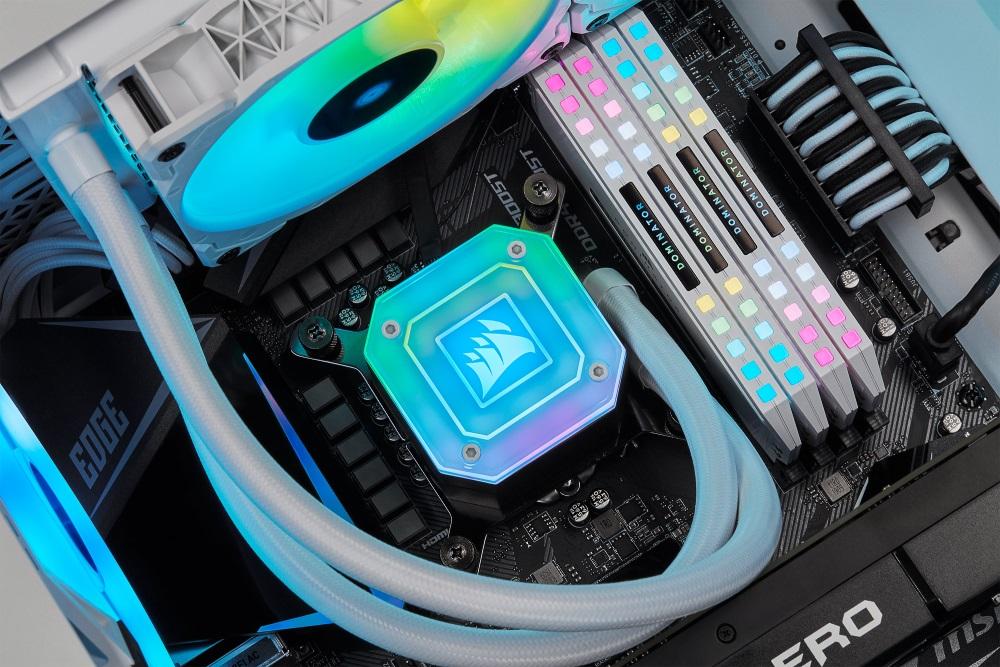 Los Liquid CPU Cooler de CORSAIR «todo en uno» están preparados para los procesadores LGA 1700 e Intel Alder Lake, GamersRD