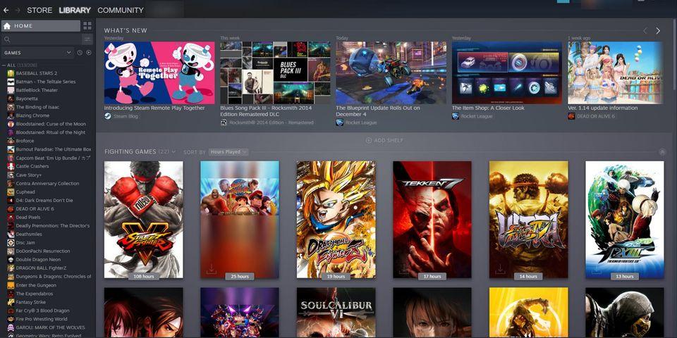 Steam dice que no deshabilita versiones anteriores de juegos, GamersRD