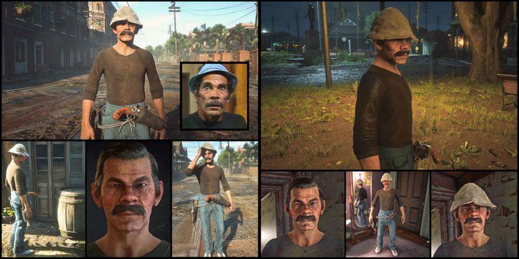 Don Ramón de El Chavo del Ocho es creado por jugador de Red Dead Online